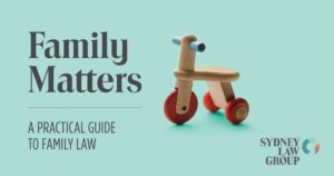 FREE booklet - A practical guide to family law in Australia